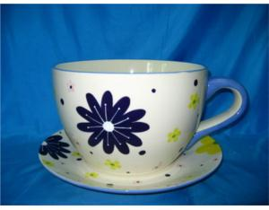 Ceramic Teacup (TW003)