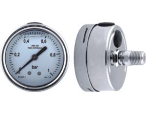 All Stainlee Steel Pressure Gauge wth Shrink Case (MY-SSS-3B063)