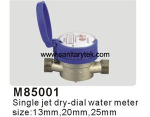 Single Jet Dry Type Water Meter (M85001)