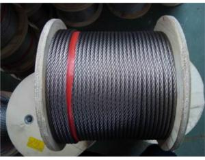 7x7 S. S. Wire Rope (AISI304, 316)