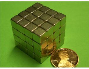 NdFeB Magnet 0.5inch Block
