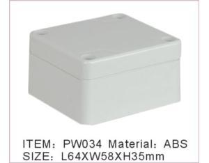 Plastic Waterproof Enclosure (PW034)