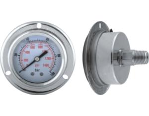 All Stainless Steel Pressure Gauge with Flange (MY-SSR-1B050)