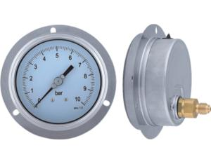 Liquid Filled Pressure Gauge with Flange (MY-STBL-2100)