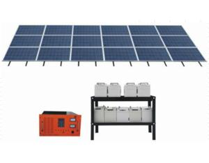 Solar Energy System for Home 2000w (108V200AH)