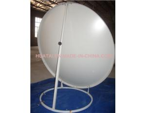 Ku Band 100cm Satellite Dish Antenna Ground Mount-Back