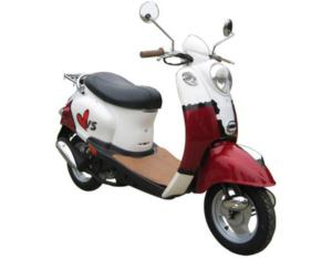 WY50QT-10 Scooter