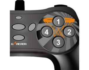 PC-USB WIRED DIGITAGAME CONTROLLERL FT2X92