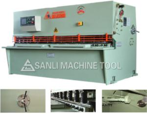 QC12K Hydraulic Pendulous Shearing Machine