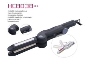 Hair Crimper&Straightener hc8038