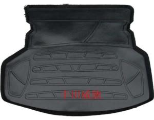 Rubber boot mat