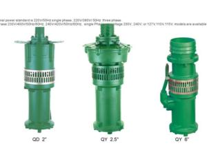 QD/QYSeries Submersible Pump
