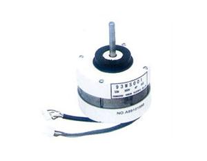 Air conditioner fan with a brushless DC motor series