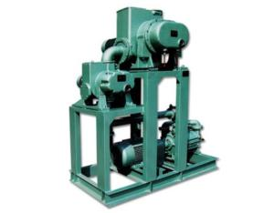 root pump vacuum systems with air jet pumps and water ring pumps