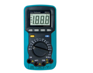 EM5510, five in a practical digital multimeter
