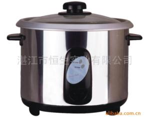 Stainless steel electric rice pot