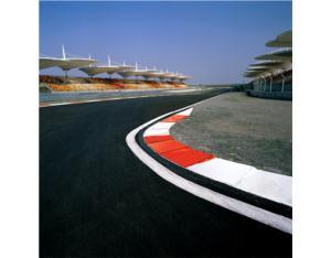 F1 Shanghai international circuit. Miller was racing
