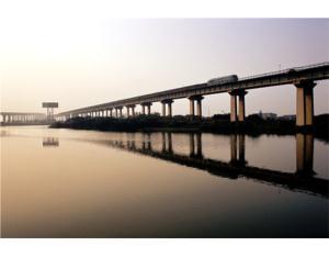 Wuhu changjiang river bridge section of D