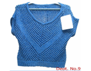 ladies' knitted sweater (11Y-S-20110328-20  )