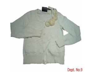 ladies' knitted cardigan (11Y-S-20110328-07  )