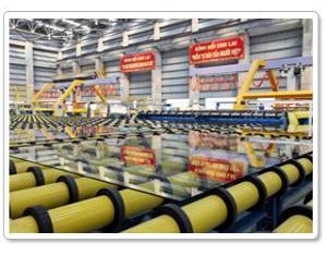 Vietnam Zhu Lai float glass production line