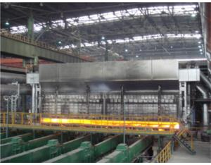 Continuous Walking Beam Heating