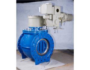 Hard-ball valve seal eccentric