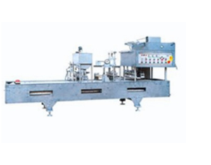 Cup of monolithic film sealing machine