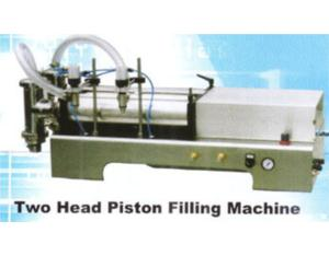 Two Head Piston Filling Machine