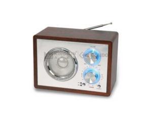 AM/FM WOODEN RADIO MR-725