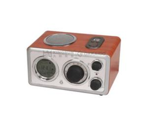 AM/FM PROJECTION WOODEN RADIO MR-861