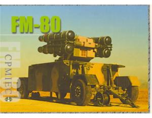 FM-80 surface to air missile weapons systems