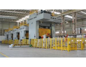 Press Machine Production Line Produced by Qier Machine Tool Group Co.,Ltd. for Geely Auto