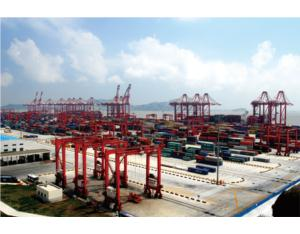 Shanghai Yangshan Deep Water Port- the Biggest High Sea Deep Water Port in China Undertake