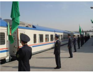 Turkmenistan 217 vehicles rail vehicle project