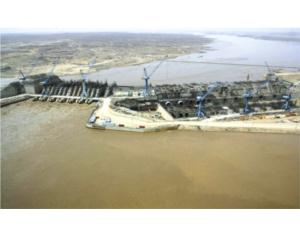 A Bird's view of Merowe Hydropower Station in Sudan