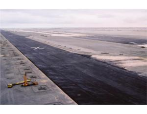 New Doha International Airport. A runway for the new A380 Airbus