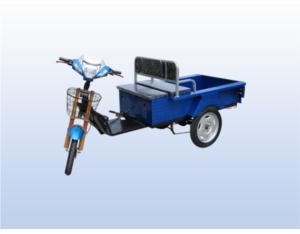 Flat folding electric bicycle