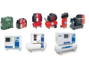Piston compressors : silent series from 0.75 HP to 7.5 HP