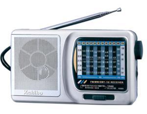 KK-9612 FM/MW/SW1-10 12-Band Radio