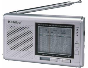 KK-1215 12-Band FM/MW/SW TV Sound Radio