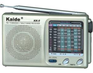 KK-9 9-Band AM/FM/SW1-7 Radio