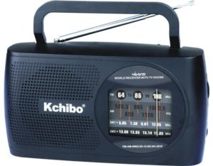 KK-2010 FM/AM/SW1/SW2 4 Band Radio