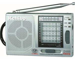 KK-9803 FM/MW/SW1-8 10-Band Radio