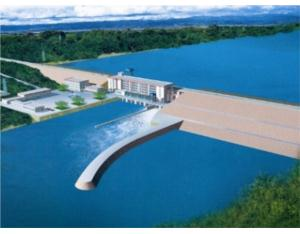 The Imboulu Hydropower Station in Congo(Brazzaville)