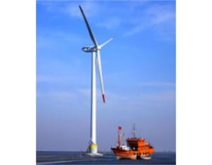 3.6MW large- scale offshore wind turbine