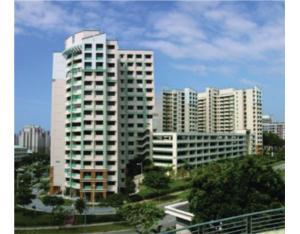 Senior Housing-building in Singapore