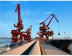 Rizhao Port Bulk Grain Wharf