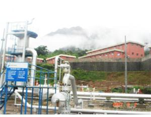 Sibayak Geothermal Power Plant 2x5.65MW