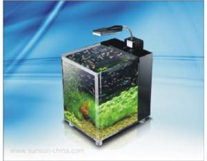 JG-380 crystal clear aquarium
